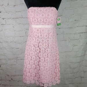 Lilly Pulitzer Bowen Floral Lace Dress size 8 NWT